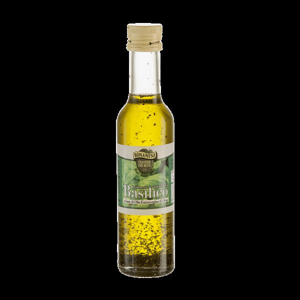 Wemy's Bonamini Frantoio olijfolie basilicum basilico