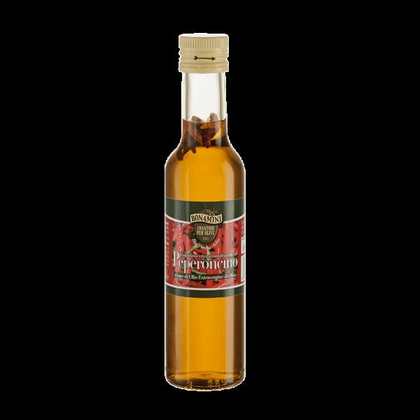 Wemy's Bonamini Frantoio olijfolie spaanse peper peperoncino