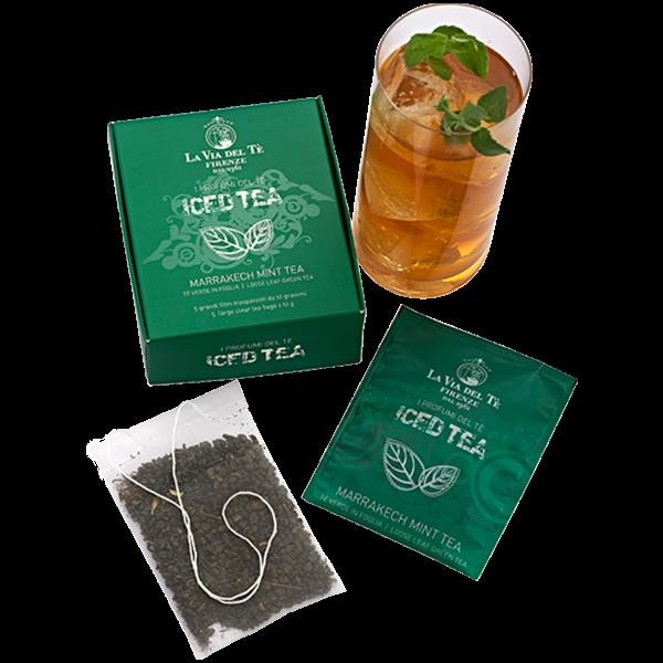Wemys La via del te marrakech mint iced tea theezakjes