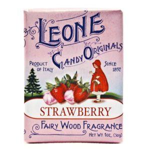 Wemy's Pastiglie Leone fruitsnoepjes aardbei