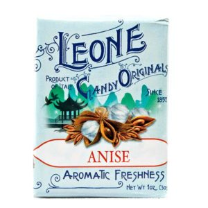 Wemy's Pastiglie Leone fruitsnoepjes anijs
