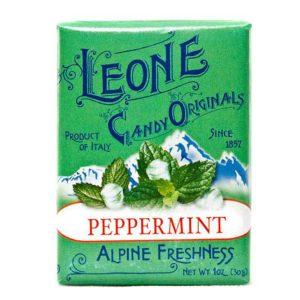 Wemy's Pastiglie Leone fruitsnoepjes pepermunt