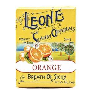 Wemy's Pastiglie Leone fruitsnoepjes sinaasappel