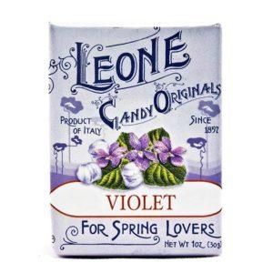 Wemy's Pastiglie Leone fruitsnoepjes violet