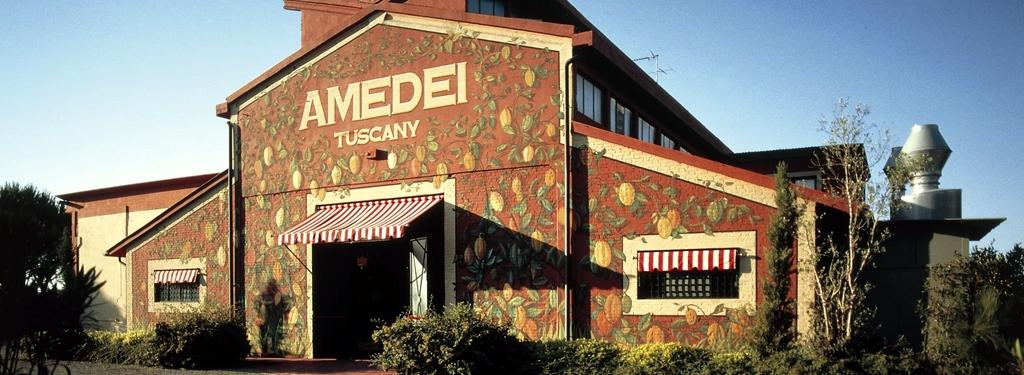 Wemy's Amedei chocolade fabriek