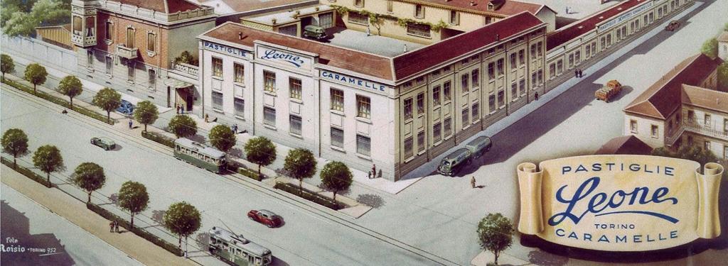 Wemy's Pastiglie Leone fabriek